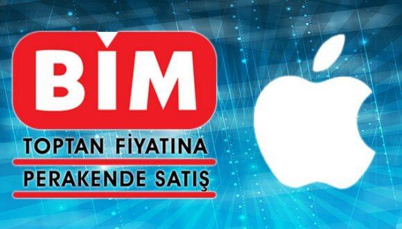 bim apple ürünleri satıyor